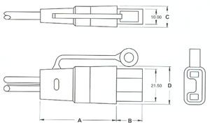 male SPECIAL CONNECTOR FOR MEDICAL APPLICATION